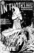 In Thoth's Wake! - Zine Quest Edition! - Poster!