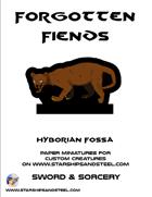Forgotten Fiends: Hyborian Fossa