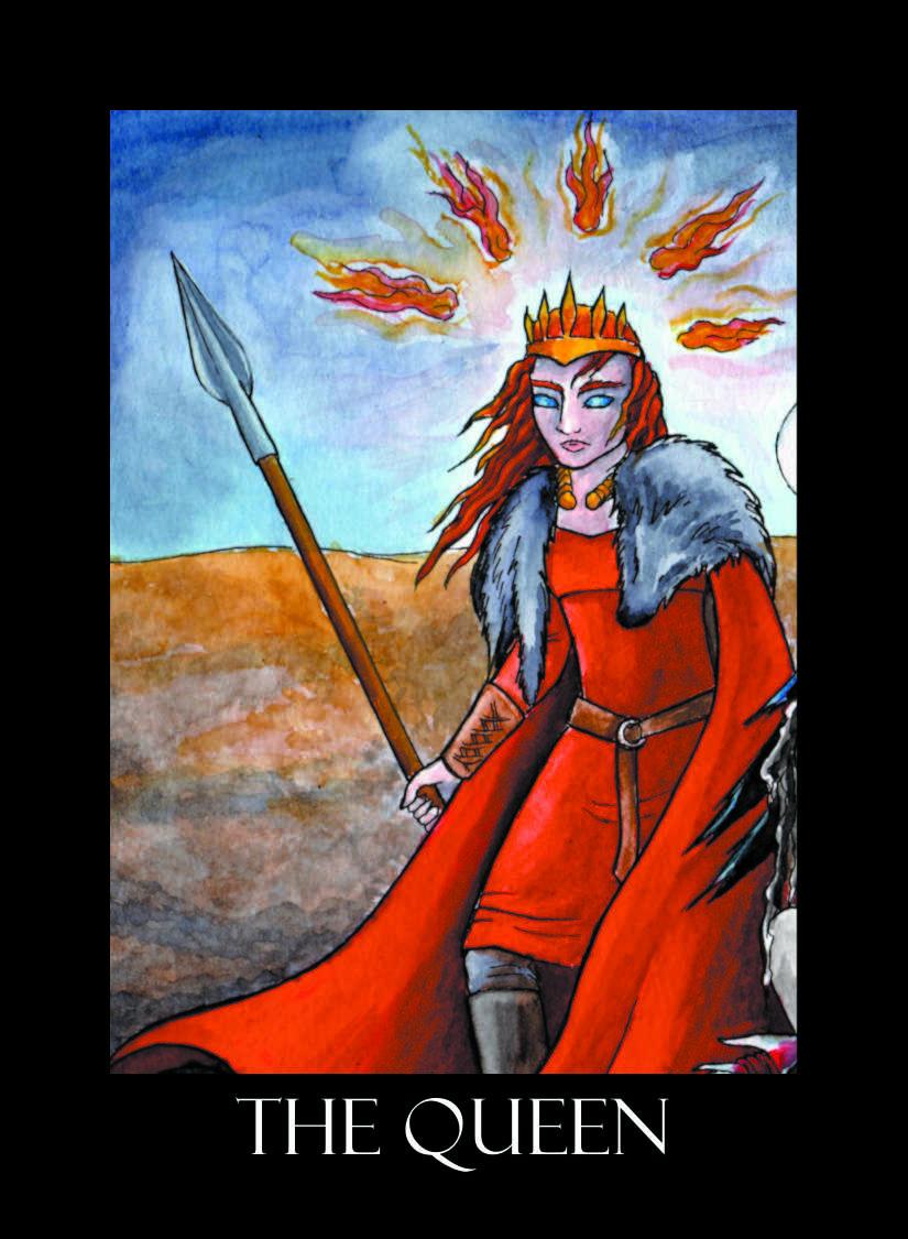 Morrigan Oracle Cards