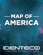 IDENTECO Map of America