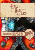 Hell Gate Battlemap (Hand-drawn)