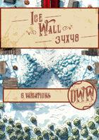 Ice Wall Battlemap (Hand-drawn)