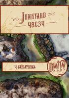 Junkyard Battlemap (Hand-drawn)