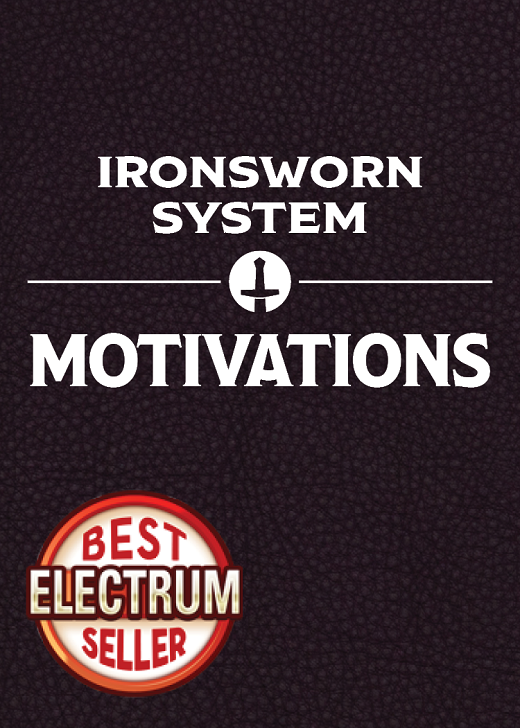 Motivations Card Set (for the Ironsworn System)