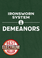 Demeanors Card Set (for the Ironsworn System)