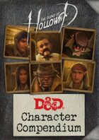 The Silence of Hollowind: Character Compendium