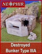 Destroyed Bunker Type IIIA