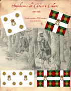 1744-1749 Arquebusiers de Grassin Flags