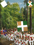 French & Indian War Regiment Guyenne paper soldiers