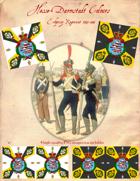 1795-1813 Hesse-Darmstadt Regiment Erbprinz Flags