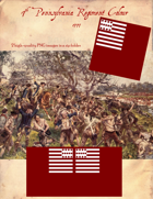 1777 7th Pennsylvania Flag