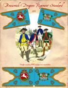 1777 Brunswick Dragoon Regiment Standard