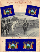 1778-83 3rd New York Flag
