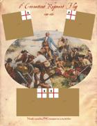 1744-63 5th Connecticut Flag