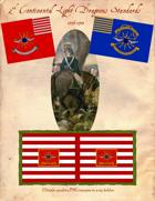 1776-1783 2nd Continental Light Dragoons Standards