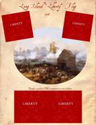 "1776 Long Island ""Liberty"" Flag"