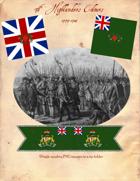 1777-1784 British 76th Highlanders Flags