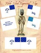 1775-1783 Rhode Island Regimental Flags