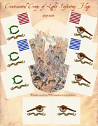 1780-1783 Continental Corps of Light Infantry Flags