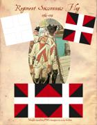 1762-1791 Regiment Soissonnais Flags