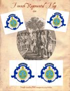 1781 French Regimental Flag