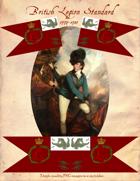 1779-1783 Tarleton's British Legion Standard