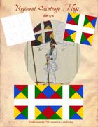 1684-1791 Regiment Saintonge Flags
