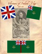 1777-1783 Loyalist Volunteers of Ireland Flags