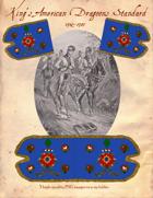 1782-1783 Loyalist King's American Dragoons Standard
