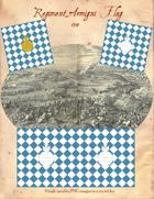 1704 Bavarian Regiment Armigni Flag