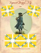 1703 Bavarian Regiment Bergeyk Flag