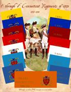 1775-1780 Connecticut Regimental Flags