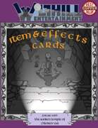 Item and Effects Cards for The Sunken Temple of Chloren-Var