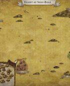 """""""Desert of Shas-Zhaa"""" Desert Map"""