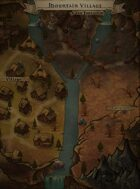 """""""Mountain Village"""" Mountain Village and Cave Entrance Map"""