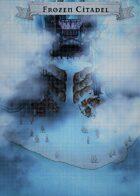 """Frozen Citadel"" Evil Lair Map"
