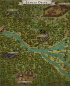 """Jungle Delta"" Jungle Map"