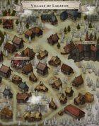 """Village of Lagatun"" Snow Forest Village"