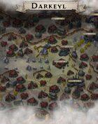 """""""Darkeyl"""" Dwarven City Map"""