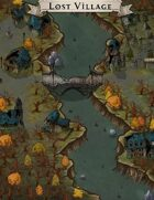 """Lost Village"" Destroyed Creepy Village Map"