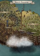 """Split Island"" Island Map"