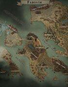 """Farsvik"" Islands World Map"
