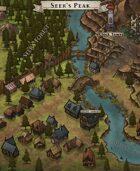 """""""Seer's Peak"""" River Village Map"""
