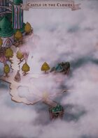 """""""Castle in the Clouds"""" Sky Castle Map"""