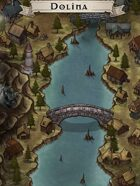 """Dolina"" River Valley Village Map"