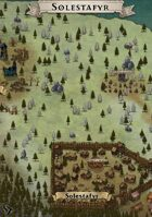 """""""Solestafyr"""" Nordic Forest Village and Ruins Map"""