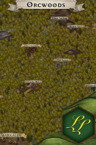 """""""Orcwoods"""" Forest Surroundings Map"""