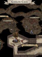 """Goblin Cave"" Underground Cave Dungeon Map"