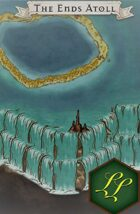 """""""The Ends Atoll"""" Landscape Scenery Map"""