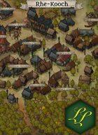 """""""Rhe-Kooch"""" Town Forest Map"""